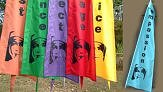 Balinese flags - Corpus Christi College - Mary MacKillop flags